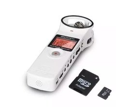 Zoom H1/w Grabador Digital Portatil Blanco Wav Mp3 Sd De 2 G