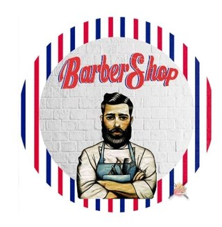 Aro Decorativo Barber Shop