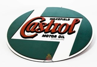 Castrol - Placa Decorativa