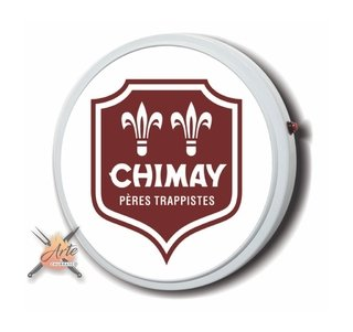 Placa luminosa pra área do churrasco Chimay