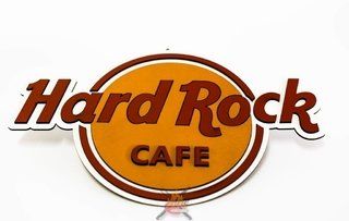 Hard Rock - Placa Decorativa - comprar online