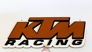 KTM - Placa Decorativa