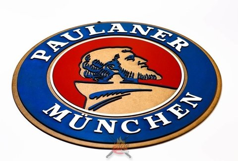 Paulaner - Placa Decorativa