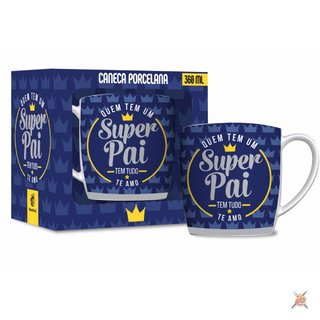 Caneca Porcelana Urban 360ml - Pai