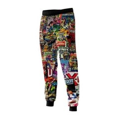 Pantalón Historietas Marvel Color N1 Full Print