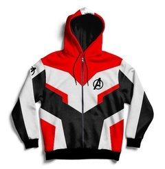 Campera Avengers Endgame Universo Cuántico Full Print