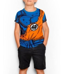 Remera Traje Kimono Goku Roto Dragon Ball Z  Full Print en internet
