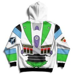 Buzo Hoodie Buzz Lightyear Toy Story Full Print - comprar online
