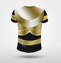 Remera Power Ranger Gold Zeo Ranger Fullprint - comprar online