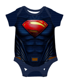 Body Bebe Superman Liga de la Justicia