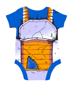 Body Bebe Vegeta traje roto Dragon Ball en internet