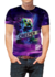 Remeras Minecraf Creeper mod 1