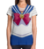 Remera corte Dama Sailor Moon azul