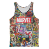 Musculosa Unisex Marvel color