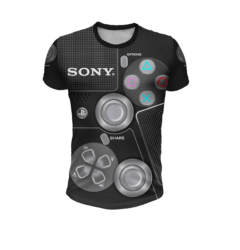Remera Joystick Sony Playstations
