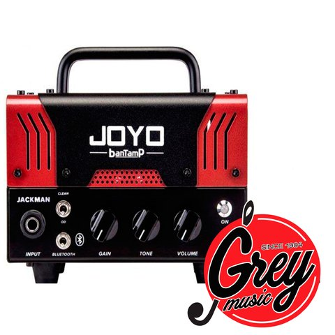 Cabezal Joyo Mini Valvular para guitarra 20w Jackman Bantamp mini tube amp / Bluetooth
