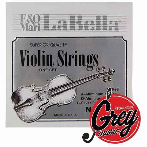 Encordado Violin La Bella 680 - Grey Music -