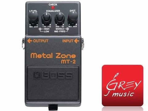 Pedal Para Guitarra Electrica Boss Mt2 Metal Zone