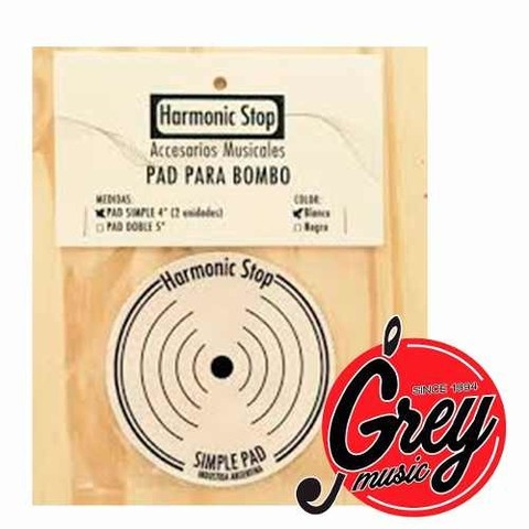 Harmonic Stop Falam Simple Para Bombo Pad X2 - Grey Music -