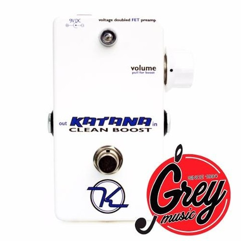 Pedal Keeley Katana Boost Booster - Grey Music -