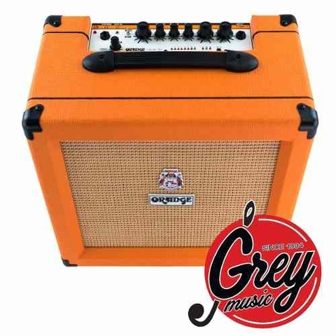 Amplificador Orange Crush Cr35rt 35w Con Afinador Y Reverb