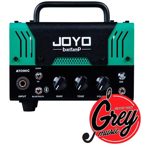 Cabezal Mini JOYO Atomic Bantamp Mini Tube Valvular para guitarra 20w