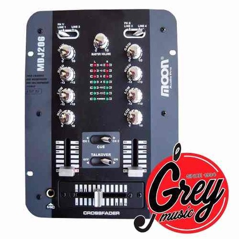Mixer Moon Mdj206 - Grey Music -