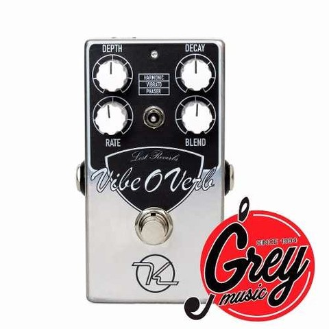 Pedal Keeley Vibe O Verb Reverb - Grey Music -
