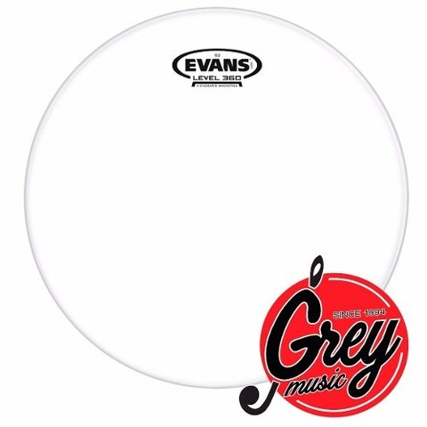 Parche Evans Usa Tt10g2 10  G2 Clear - Grey Music -