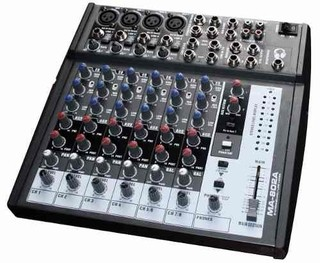 Consola Mixer Moon Mc802a De 8 Canales - Grey Music on internet