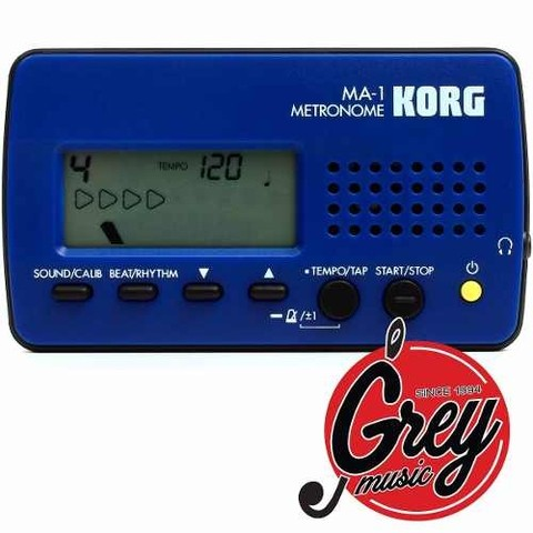 Metrónomo Digital Korg Ma-1 Compacto - Grey Music