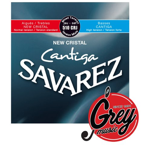 Cuerdas Savarez (510crj) New cristal Cantiga. Tension normal a alta