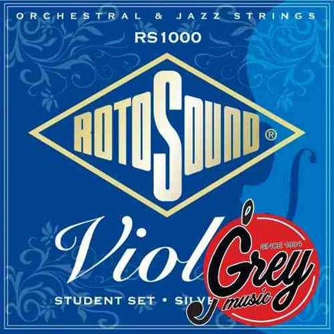 Encordado Para Violìn Rotosound Rs1000 - Grey Music -