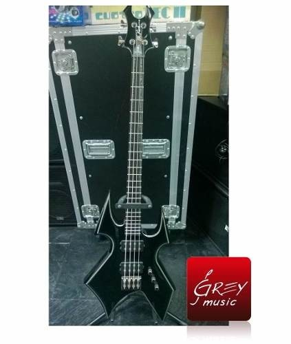 Bajo Electrico Bc Rich Trace Heavey Rock - Grey Music