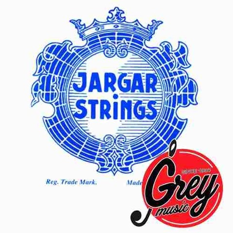 Encordado Para  Cello 4/4 Jargar Medium Azul - Grey Music -