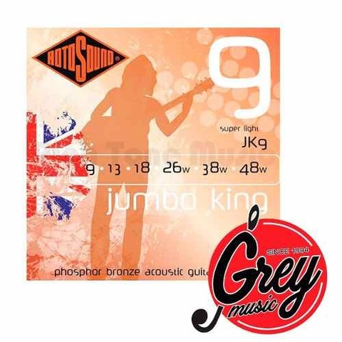 Encordado Rotosound (jk9) Jumbo King Phosphor Bronze 09-048