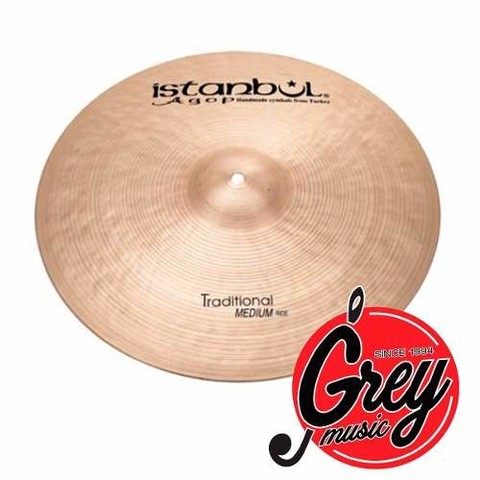 Platillo Istanbul Agop Tradicional Med Crash 16- Grey Music