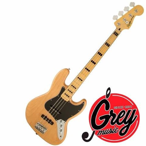 Bajo Squier Jazzbass Vintage Modified 70s Natural 0306702521