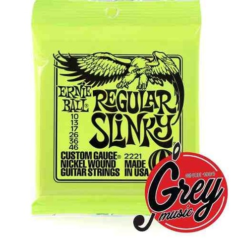 Encordado/cuerda Guit Ernie Ball 2221 Regular Slinky 010-046