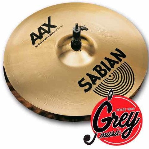 Platillos Sabian P/ Bateria 14  Aax Stage Hats - Grey Music-