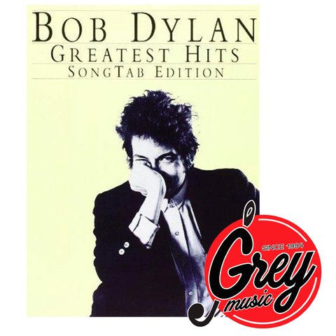 Libro Hal Leonard AM87466 Bob Dylan Greatest Hits para guitarra con tablatura