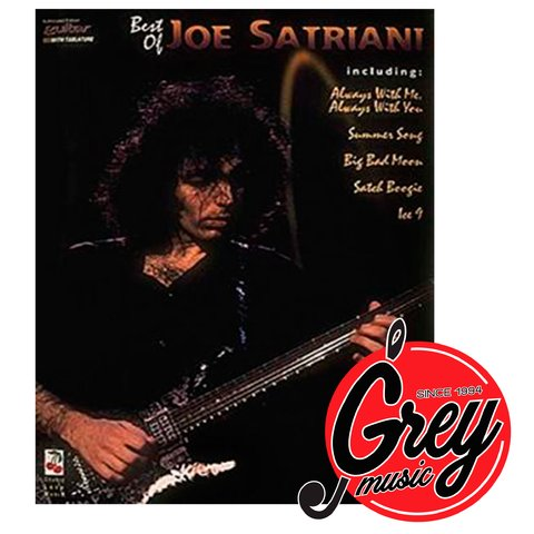 Libro Hal Leonard 02501255 Best of Joe Satriani para guitarra con tablatura