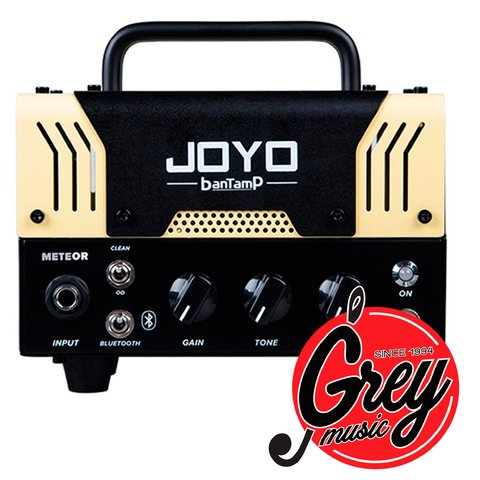 Cabezal Joyo Mini Valvular para guitarra 20w Meteor Bantamp mini tube amp / Bluetooth