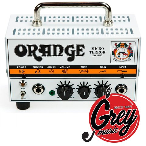 Amplificador Orange Cabezal De Guitarra Mt Micro Terror 20w