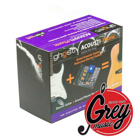 Ghost Acousti-Phonic Kit de Preamplificador para guitarra Pe-0240-00