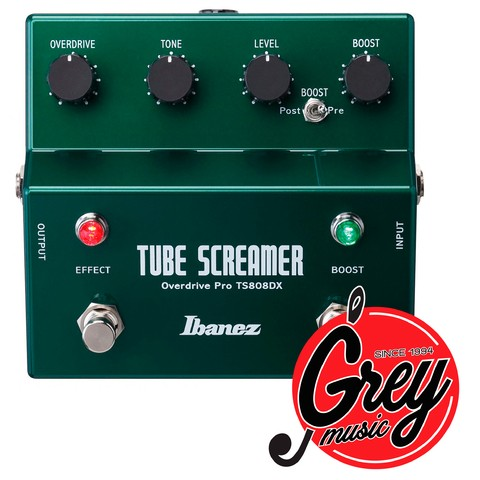 Pedal Ibanez TS 808dx Tube Screamer Overdrive y boost