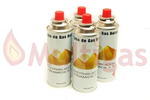 CARTUCHO DE GAS. DESCARTABLE 227GR