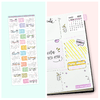 Stickers Calendario 2019 TABS