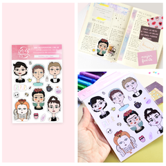 Stickers Girl Power - comprar online