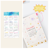 Stickers Calendario 2019 Transparentes